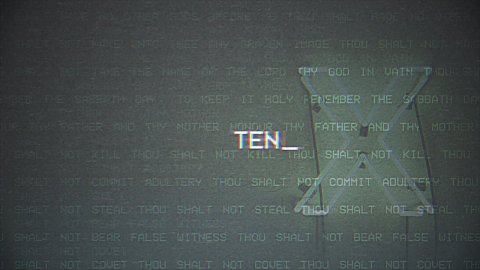Ten // No Adultery